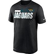Nike Men's Jacksonville Jaguars Legend Performance Black T-Shirt