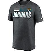 Nike Men's Jacksonville Jaguars Charcoal Heather Legend Sideline T-Shirt