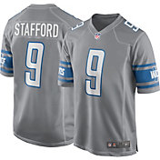 Nike Men's Detroit Lions Matthew Stafford #9 Color Rush Game Jersey