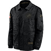 Nike Men's Salute to Service Detroit Lions Black Jacket