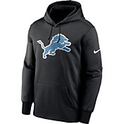Nike Men's Detroit Lions Sideline Therma-FIT Black Pullover Hoodie