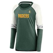 Nike Women's Green Bay Packers Logo Long-Sleeve T-Shirt