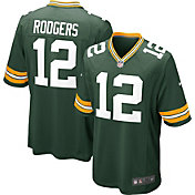 Nike Men's Green Bay Packers Aaron Rodgers Green Game Jersey