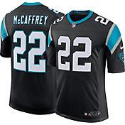 Nike Men's Carolina Panthers Christian McCaffrey #22 Home Black Limited Jersey
