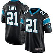 Nike Men's Carolina Panthers Jeremy Chinn #21 Black Game Jersey