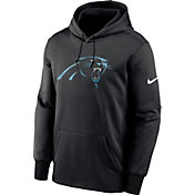 Nike Men's Carolina Panthers Sideline Therma-FIT Black Pullover Hoodie