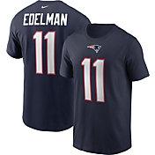 Nike Men's New England Patriots Legend Julian Edelman #11 Navy T-Shirt