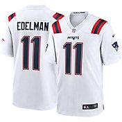 Nike Men's New England Patriots Julian Edelman #11 White Game Jersey