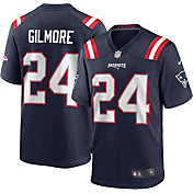 Nike Men's New England Patriots Stephon Gilmore #24 Home Navy Game Jersey