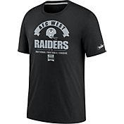 Nike Men's Las Vegas Raiders Black Rewind Historic Tri-Blend T-Shirt