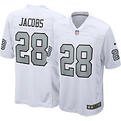Nike Men's Las Vegas Raiders Josh Jacobs #28 Color Rush Game Jersey