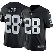 Nike Men's Las Vegas Raiders Josh Jacobs #28 Home Black Limited Jersey
