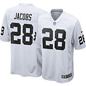 Nike Men's Away Game Jersey Las Vegas Raiders Josh Jacobs #28