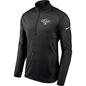 Nike Men's Las Vegas Raiders Element Half-Zip Black Pullover