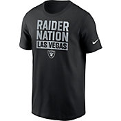 Nike Men's Las Vegas Raiders Raider Nation Black T-Shirt