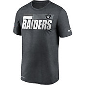 Nike Men's Las Vegas Raiders Legend Performance Charcoal T-Shirt