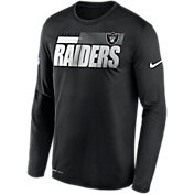 Nike Men's Las Vegas Raiders Sideline Coach Long-Sleeve T-Shirt
