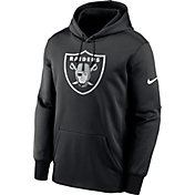 Nike Men's Las Vegas Raiders Sideline Therma-FIT Black Pullover Hoodie