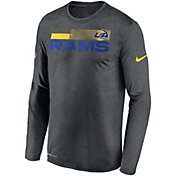 Nike Men's Los Angeles Rams Sideline Coach Long-Sleeve T-Shirt