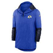 Nike Men's Los Angeles Rams Sideline Dri-Fit Player Jacket