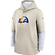 Nike Men's Los Angeles Rams Ivy Sideline Therma-FIT Heavy Hoodie