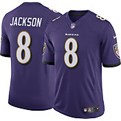 Nike Men's Baltimore Ravens Lamar Jackson #8 Home Purple Limited Jersey
