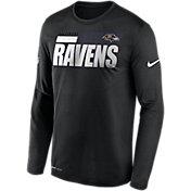 Nike Men's Baltimore Ravens Sideline Long Sleeve T-Shirt