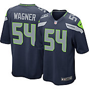 Nike Men's Seattle Seahawks Bobby Wagner #54 Home Navy Game Jersey