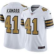 Nike Men's New Orleans Saints Alvin Kamara #41 Color Rush Limited Jersey