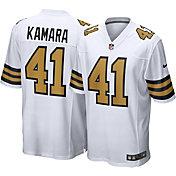 Nike Men's New Orleans Saints Alvin Kamara #41 White Game Jersey