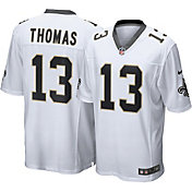 Nike Men's New Orleans Saints Michael Thomas #13 White Game Jersey