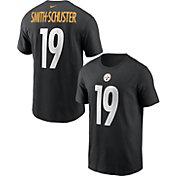 Nike Men's Pittsburgh Steelers JuJu Smith-Schuster #19 Black T-Shirt