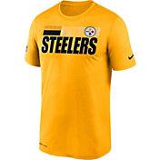 Nike Men's Pittsburgh Steelers Legend Performance Gold T-Shirt