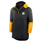 Nike Men's Pittsburgh Steelers Sideline Dri-Fit Player Jacket