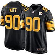 Nike Men's Pittsburgh Steelers T.J. Watt #90 Black Game Jersey