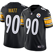 Nike Men's Pittsburgh Steelers T.J. Watt #90 Black Limited Jersey