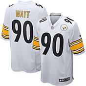Nike Men's Pittsburgh Steelers T.J. Watt #90 White Game Jersey