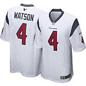 Nike Men's Houston Texans Deshaun Watson #4 White Game Jersey