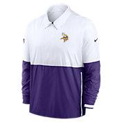 Nike Men's Minnesota Vikings Sideline Dri-Fit Coach Jacket