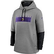 Nike Men's Minnesota Vikings Sideline Therma-FIT Heavy Hoodie
