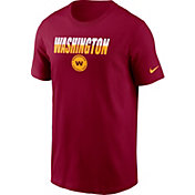 Nike Men's Washington Football Team Split Name Red T-Shirt