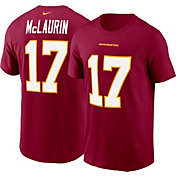 Nike Men's Washington Football Team Terry McLaurin #17 Red Logo T-Shirt