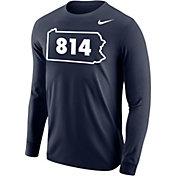 Nike Men's 814 Area Code Navy Long Sleeve T-Shirt