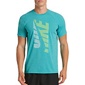 Nike Men's Heather Tilt Short Sleeve Rash Guard