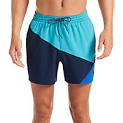 Nike Men's Logo Jackknife Volley Swim Trunks