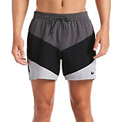 Nike Men's Logo Tape Vortex Volley Swim Trunks