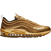 Nike Men's Air Max 97 Gold Shoes