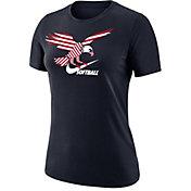Nike Women's American Eagle Swoosh Softball T-Shirt