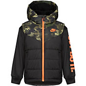 Nike Little Boys' 2Fer Full-Zip Puffer Jacket