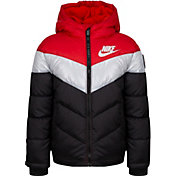 Nike Little Boys' Heavy Color Block Full-Zip Puffer Jacket